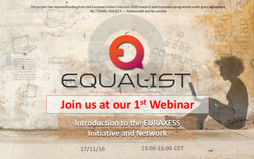 join us at our first equal-ist webinar