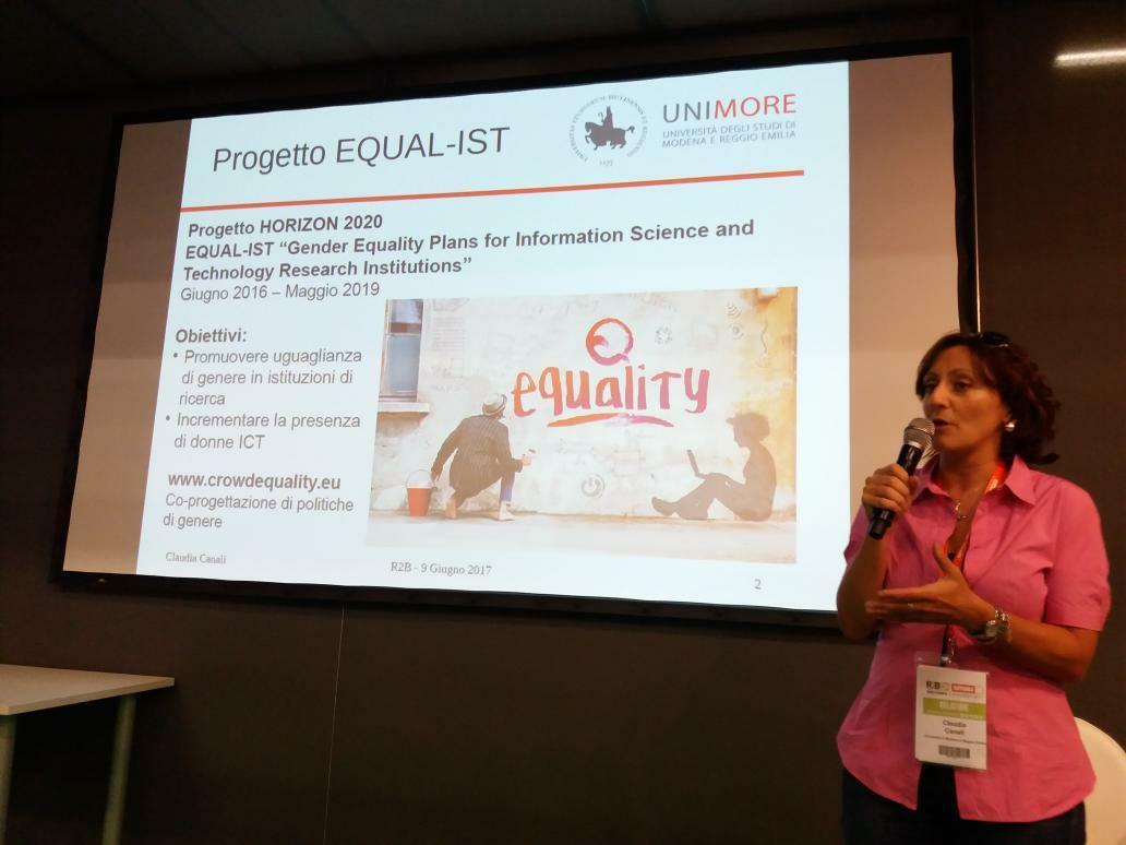 Gender Equality In Business Current Events 2020.Presentation Of Equal Ist Project And Crowdsourcing Platform