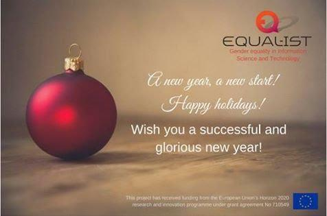 Merry Christmas & a Happy New Year with a promise! | EQUAL-IST